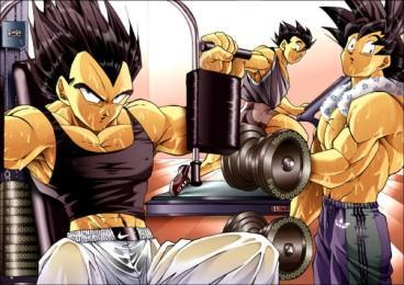 Using the Gym? by handsomevegeta