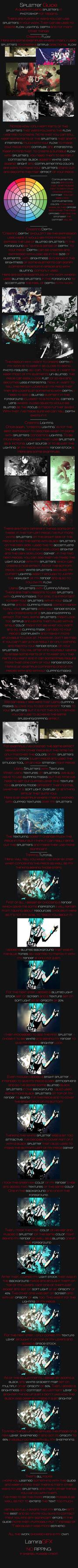 The Splatter Guide by LamiraGFX