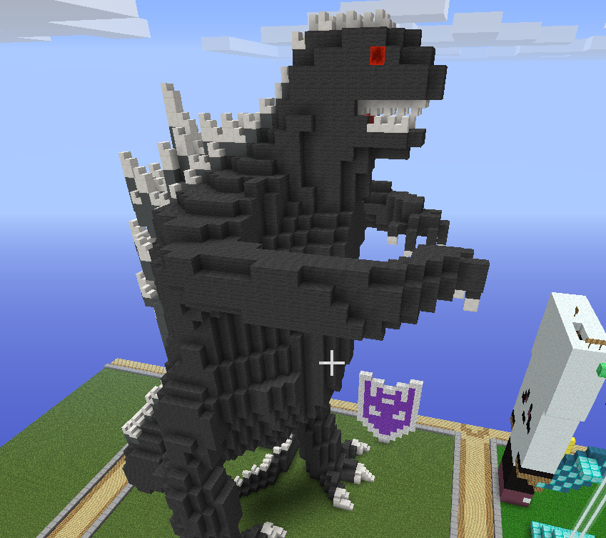 how to make a statue of a skin in minecraft