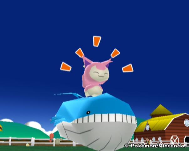The best joke R/S gave us. Skitty on Wailord. : pokemon Wailmer Pokemon Card