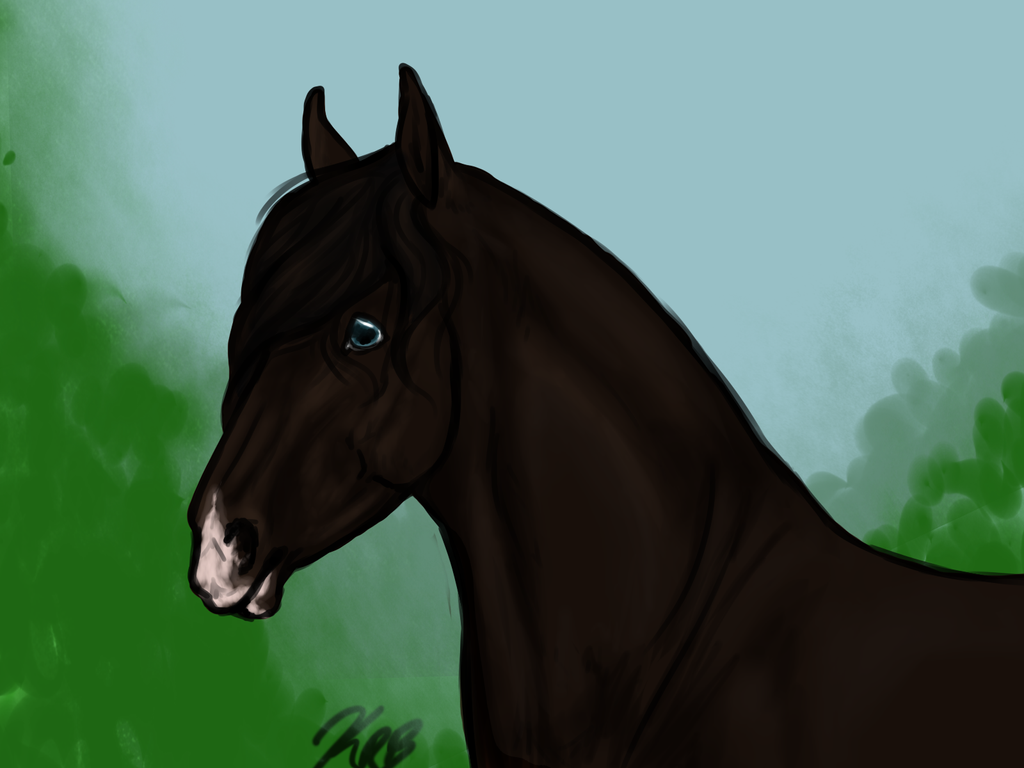 New mare! by SerendipityArts