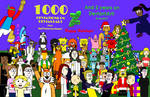 Holiday Group Picture (1000 Deviations!) by GreenToonsInThe2020s