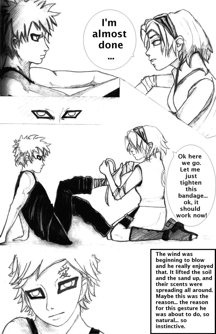 Gaara and Sakura - page 1 by Irophe on DeviantArt