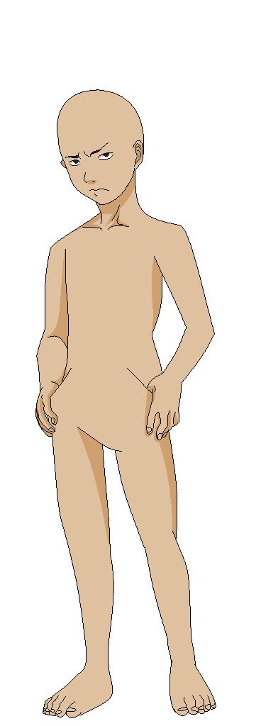 anime male base - 368×1024