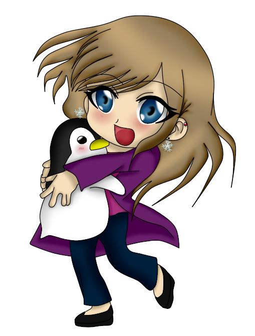 Nikki and Penguin by kara-uchiha