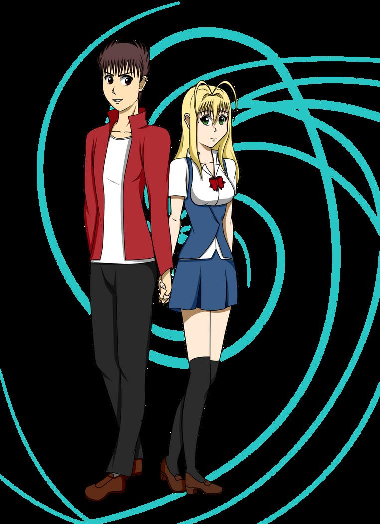 DoD: Akito and Yumaymi by kara-uchiha