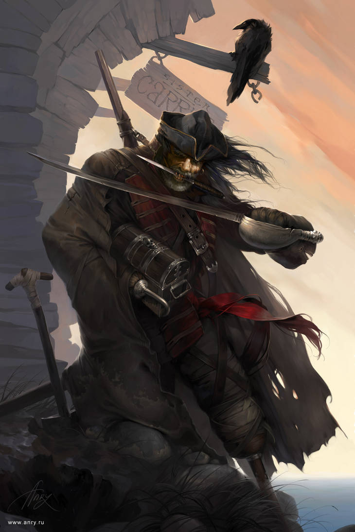 Old Pirate by anry