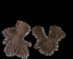 steampunk brown gloves stock