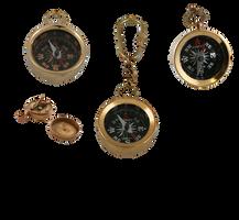 steampunk compass items stock by darkadathea