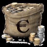 coins bag