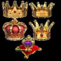 gold crowns by darkadathea