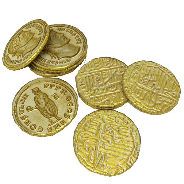some coins by darkadathea