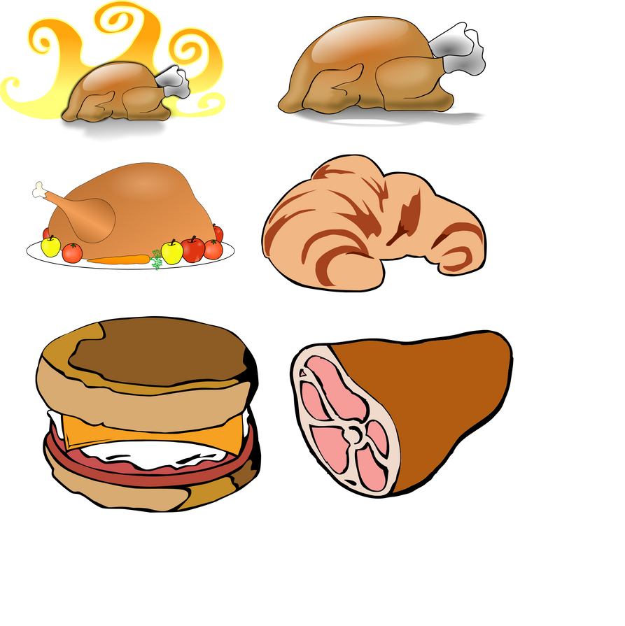 PACK FOOD VECTOR PNG 14 by darkadathea