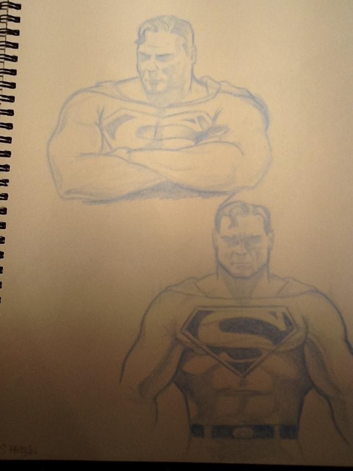 Superman, man of steel by Scottheneghan