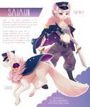 character reference: saiaun