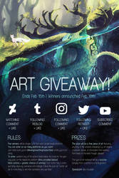 WINNER ANNOUNCED! | ART GIVEAWAY (CLOSED)
