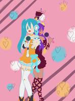 Art trade with Mari by Emy-Galaxie