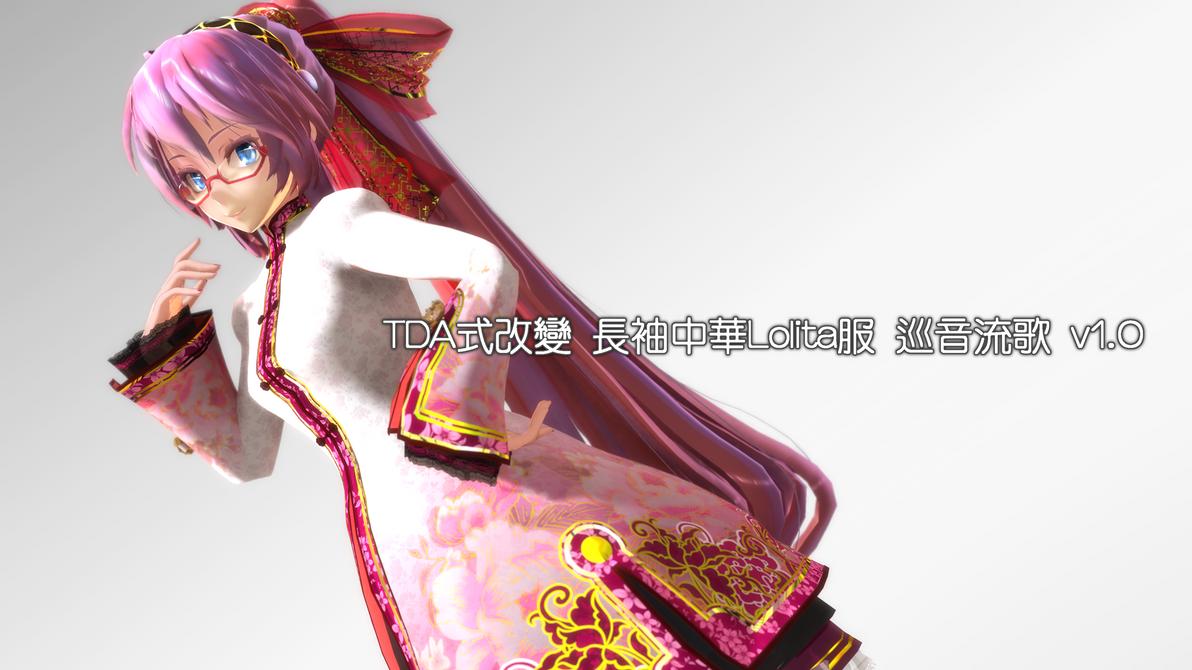 Model_test_TDA_ChinaLolita_LUKA by rongsama