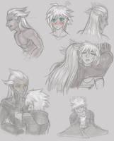 .:KH: RiSem Sketchpage:. by Goddess-of-BUTTSECKS