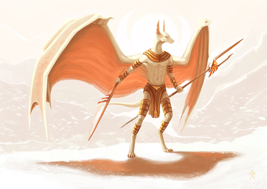 Riyin - Son of Anubis by SunMoonDragoness