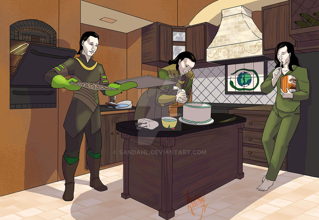 Lokis Baking by Sandahl