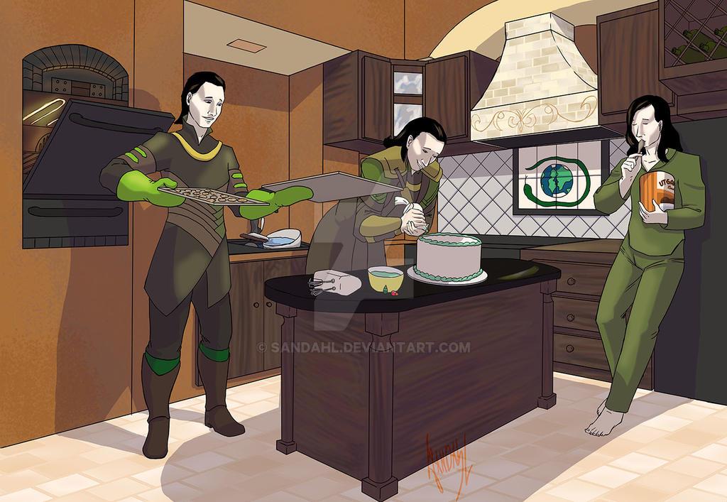 Lokis Baking by Sandahl