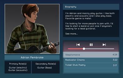 Adrian Character Bio