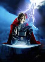 Thor in Avengers Assemble by digitalninja77