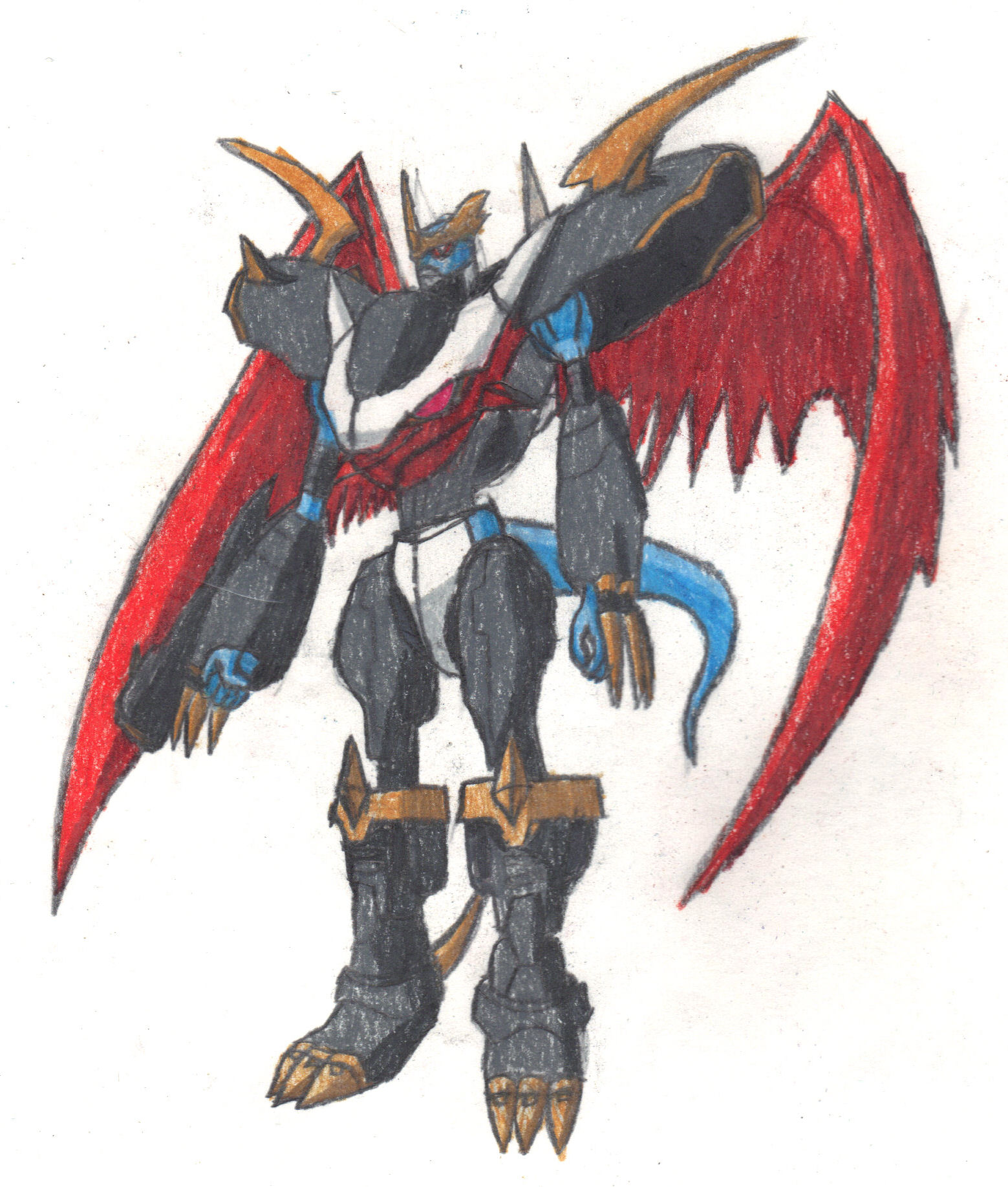 Imperialdramon fighter mode - Season 2 by Dragon-Cat-Wolf ...