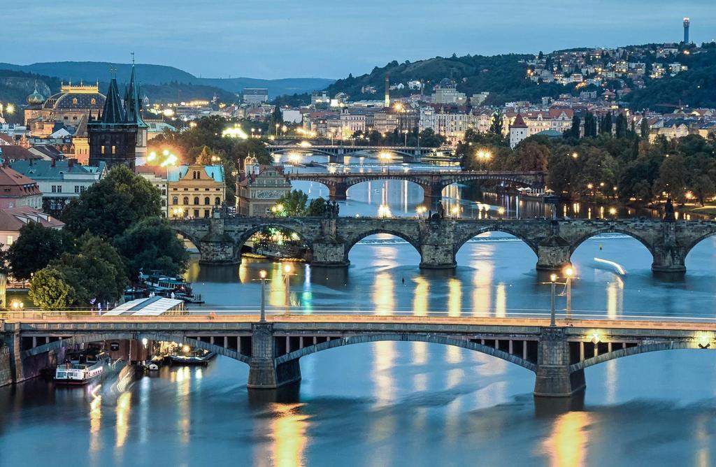 Prague Bridges by mehtadushy