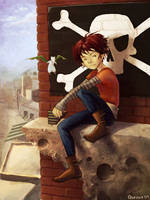 Peter Pan by Quezzie