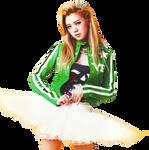 Lizzy (Orange Caramel) PNG [render]
