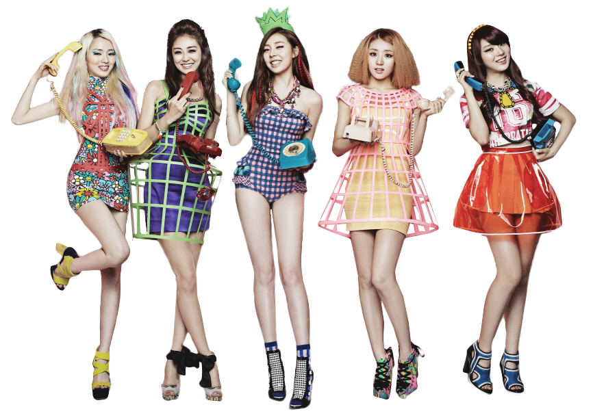 Ladies Code PNG [Render] by GAJMEditions