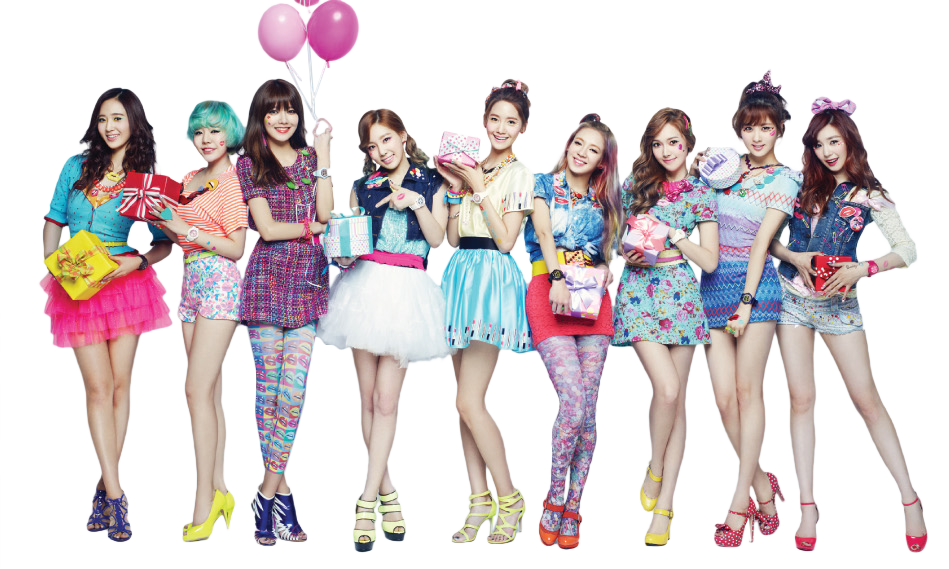 girls generation png render by gajmeditions on deviantart