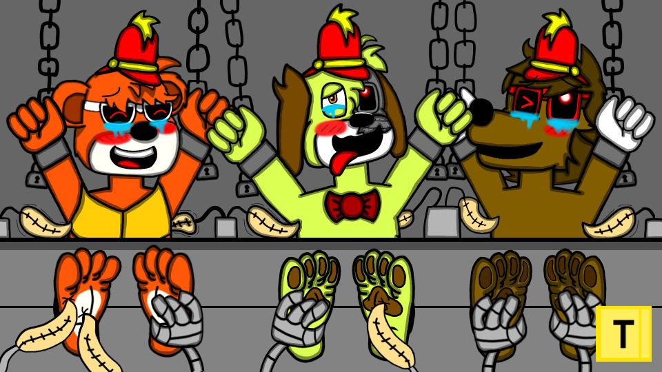 The horror splits tickle torture 1/2
