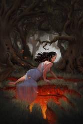 The Underworld Opens by laurenblakeart