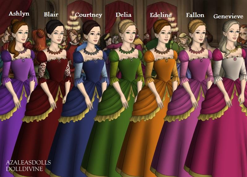 Barbie and the 12 dancing princesses older sister by - Barbie 12 princesse ...