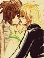 LOST CANVAS:KISS ME TENMA by panza
