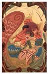 artnov contest dragon by panza