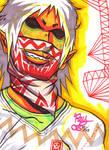 Skeletal Scarf Ninja 05-10