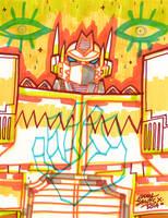 Optimus - Marker by reyyyyy