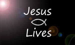 Jesus Lives by StandAndStare