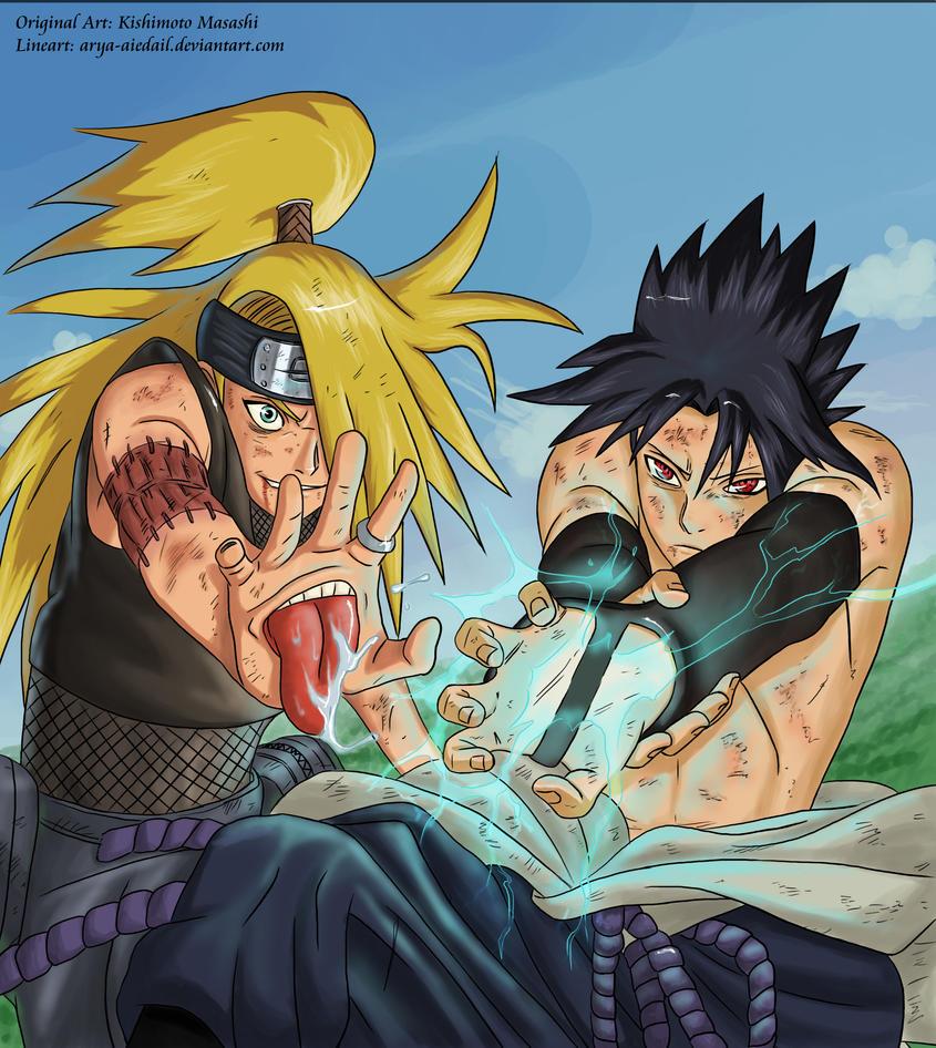 Deidara vs sasuke by shabaku on deviantart deidara vs sasuke by shabaku altavistaventures Gallery