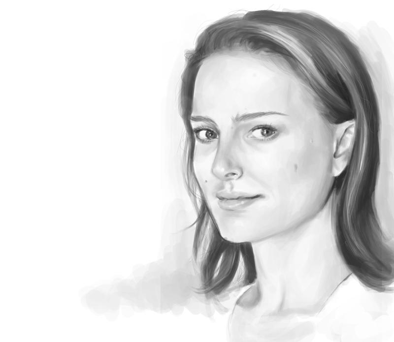 Natalie Portman II by Shabaku