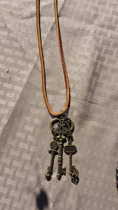 keys necklace  by optimustwist26