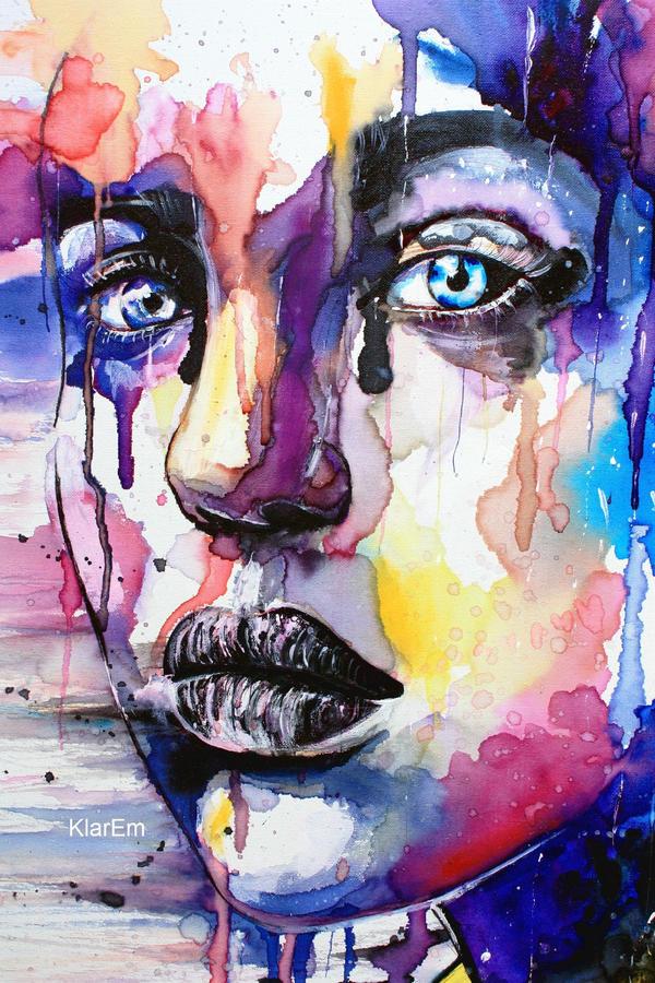 Colored soul-detail by KlarEm