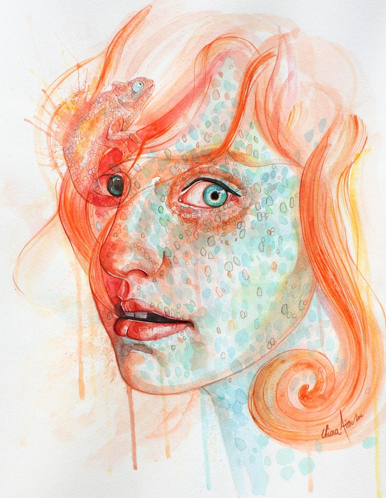 Chameleon by KlarEm