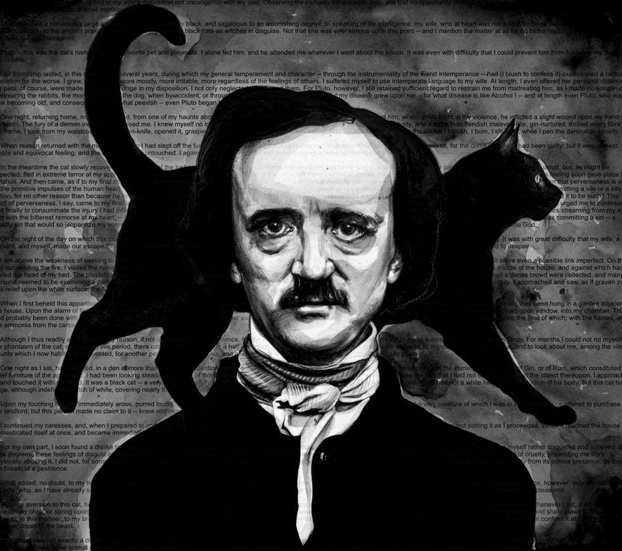 "analysis of edgar allan poes black A psychoanalytic analysis on the black cat by edgar allan poe first of all, let us go into the world of ""the black cat"" and delve into the inner workings of the dark side of the human mind."