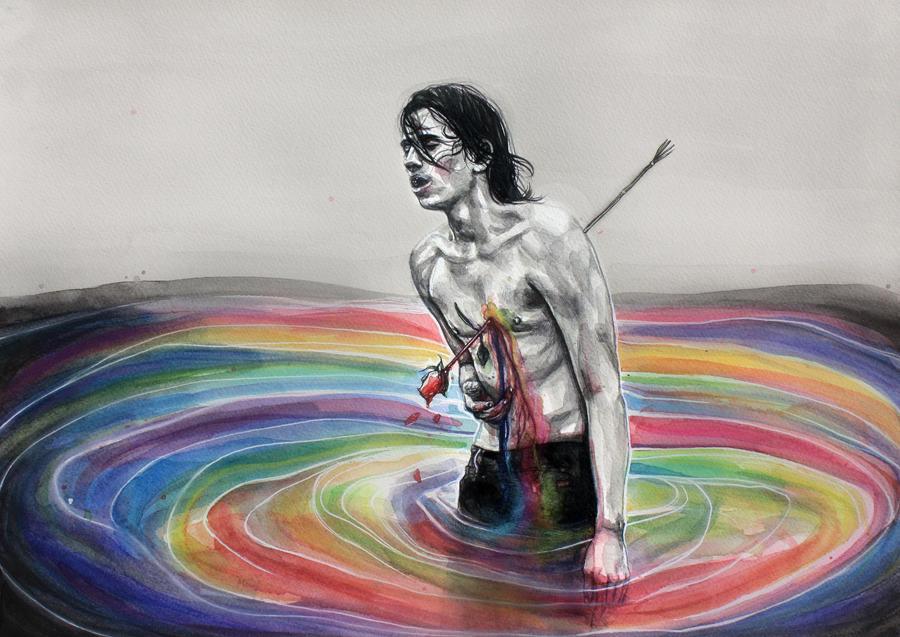 Art in the blood by KlarEm