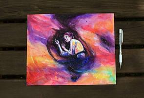 Immersed in my dreams by KlarEm